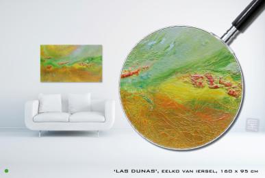 Las Dunas Schilderij