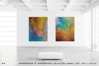 Kunstwerken Papageno Papagena