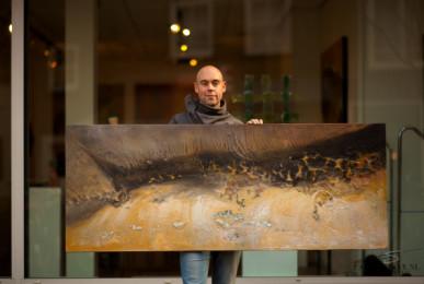 kunstenaar Eelko van Iersel
