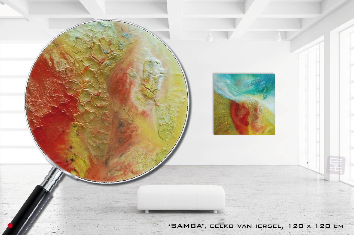 Schilderij Samba
