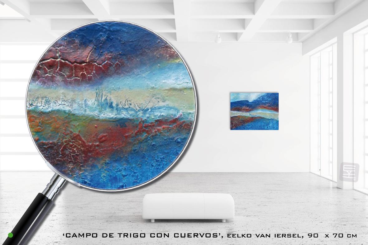 schilderijen_eelkovaniersel_Campo-de-trigo-con-cuervos