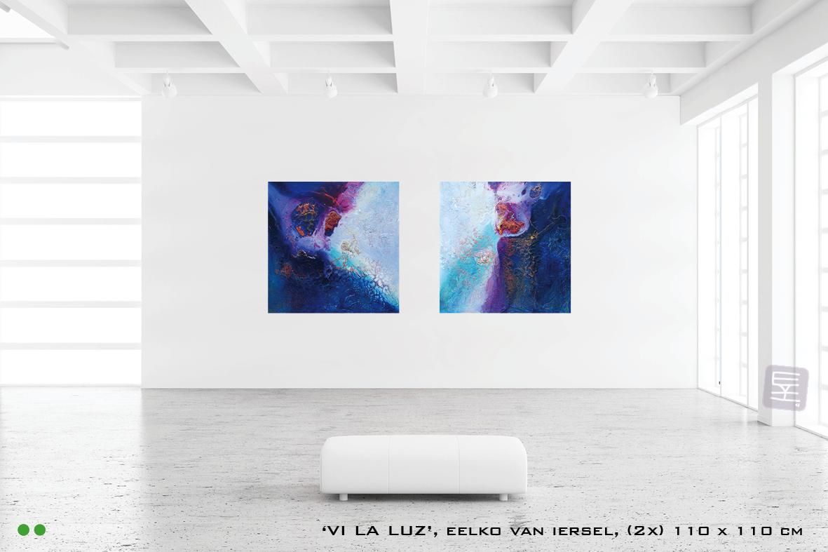 Schilderijen VI LA LUZ tweeluik te koop