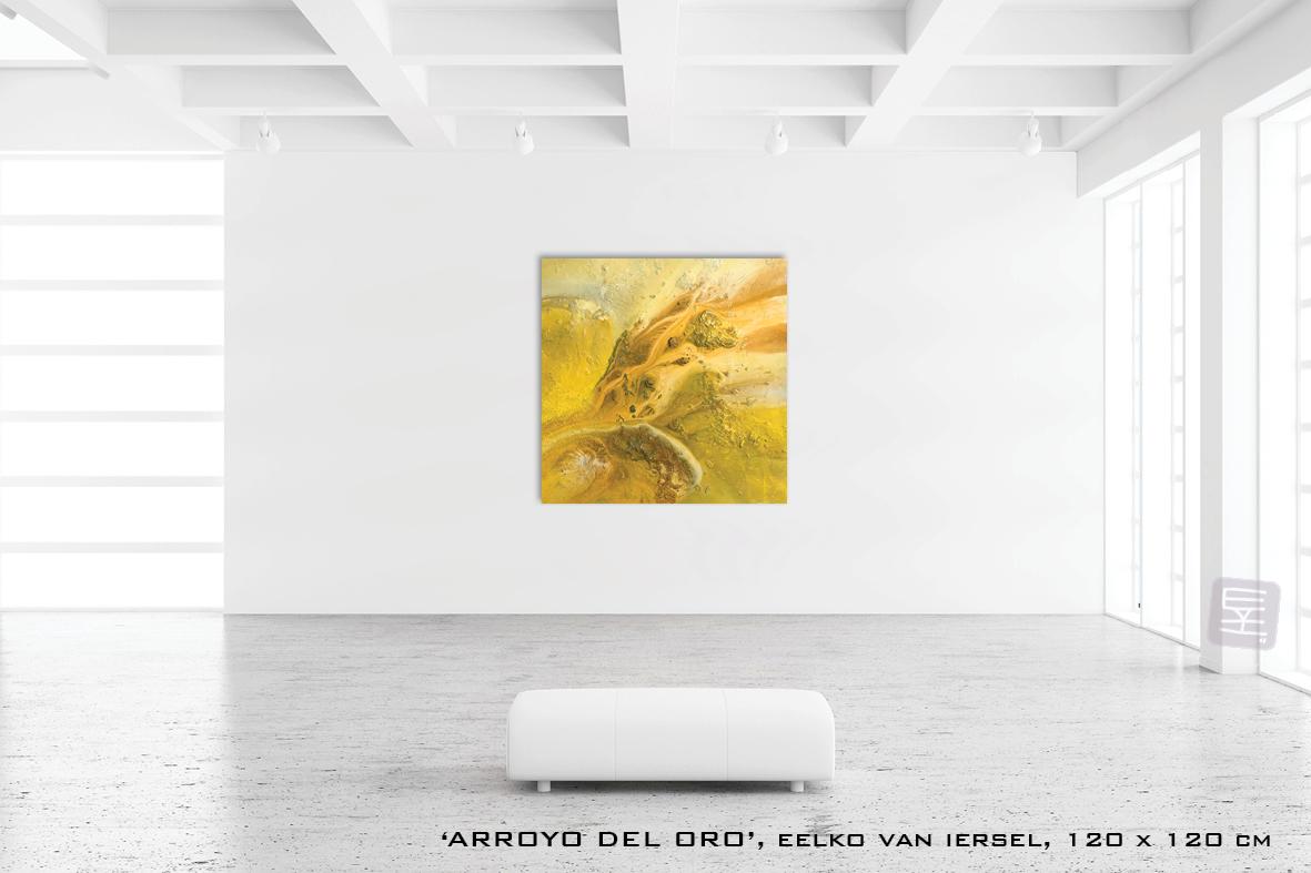 Schilderij  ARROYO DEL ORO