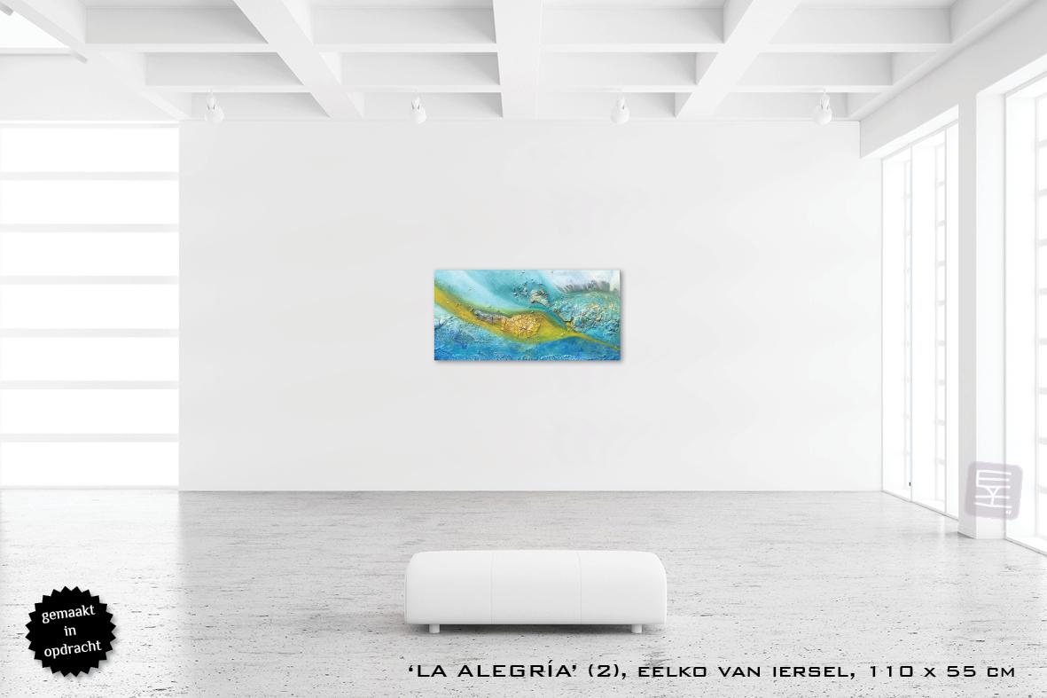 Schilderij kunst Eelko van Iersel galerie Zeven Zomers Nijmegen OPDRACHT
