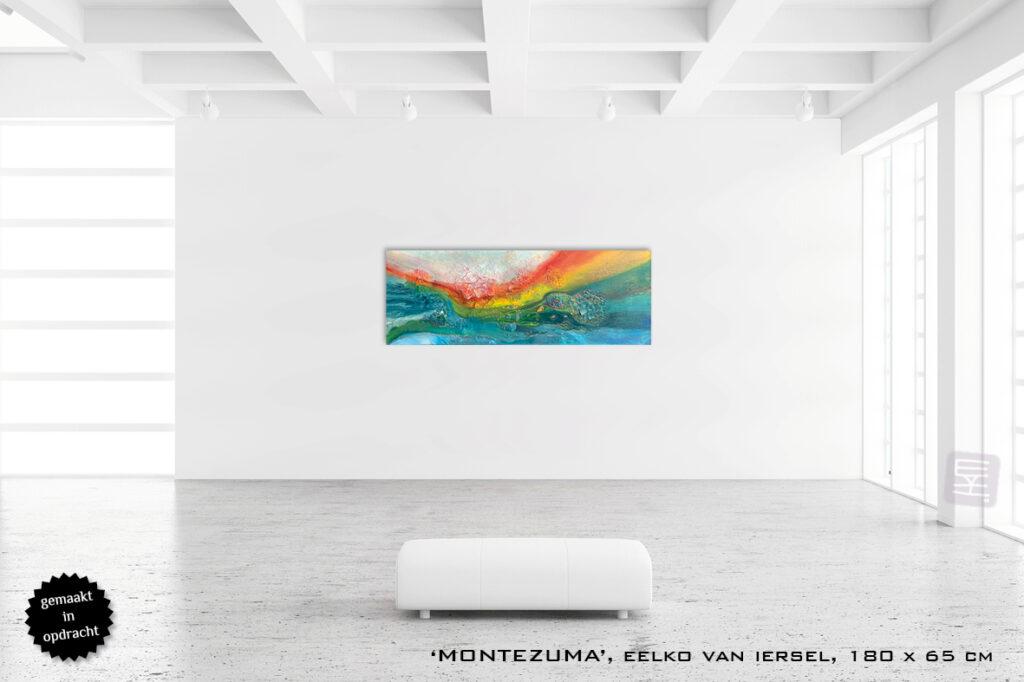grote schilderijen abstract te koop expressief luxueus interieur modern art of living montezuma costa rica